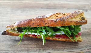 Sandwich chorizo coppa brie