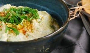 Raïta de concombre et yaourt