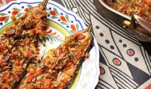 Aubergines au four à la turque