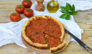 Tarte au thon et à la tomate