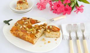 Gâteau aux abricots moelleux