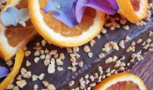 Cake à l'orange sanguine chocolaté façon rocher