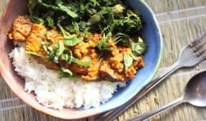 Magret de canard au wok à l'indonésienne
