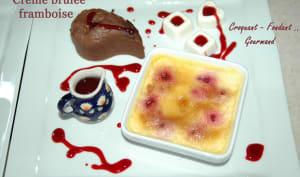 Crème brûlée framboise