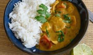 Curry de poulet (facile)