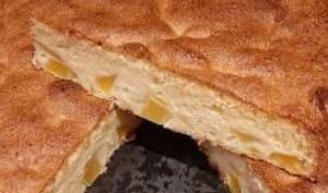 Gâteau à la mangue fraîche