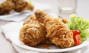 poulet croustillant au four