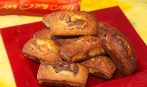 Minis marbrés au chocolat