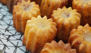 Minis cannelés chorizo comté
