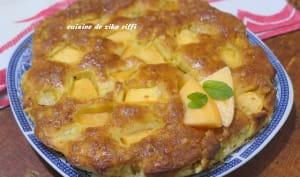 Gâteau moelleux au melon et au yaourt