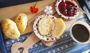 Mini pains briochés