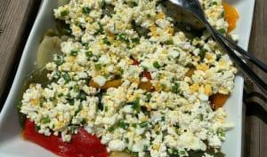 Salade de poivrons à la feta