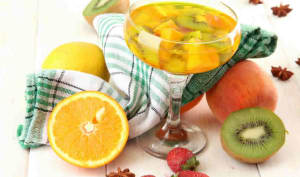 Sangria blanche tropicale au Thermomix » Recette Thermomix