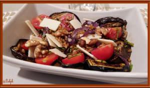 Salade de petit épeautre aux légumes grillés