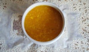 Une soupe jaune comme le soleil - Sunshine soup de Nigella Lawson