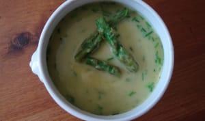 Soupe d'asperges