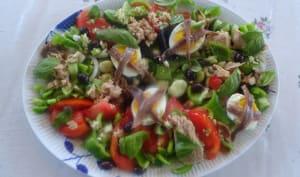 La véritable salade niçoise