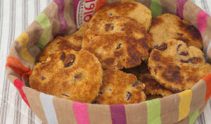 Welsh cakes, gâteaux gallois à la poêle