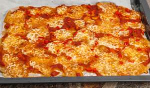 Pizza poivron mozzarella