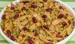 Salade de quinoa aux haricots