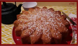 Gâteau à la fleur d'oranger et amande