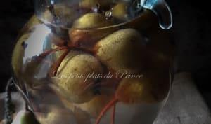 Liqueur de poires sauvages