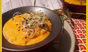 Flan de carottes à l'estragon