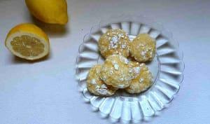 Crinkles au citron Healthy