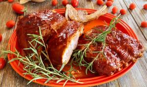 Le Porc Barbecue à l'américaine