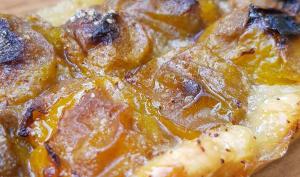 Tarte aux reines-claudes cannelle et miel