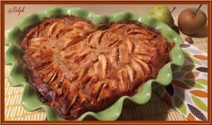 Cuajada aux pommes et noisettes