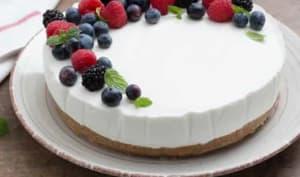 Cheesecake extrêmement crémeux