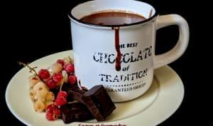 Chocolat chaud onctueux