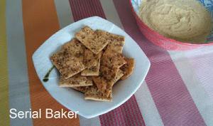 Crackers au zaatar