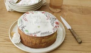 Gros gâteau d'anniversaire