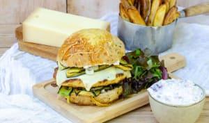 Burger végétarien montagnard