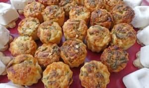 Mini cannelés aux tomates confites