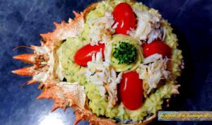 Coquille de crabe gourmande
