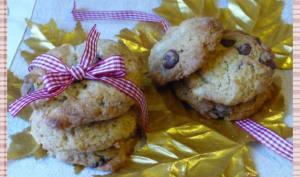 Cookies aux deux chocolats et au sirop d'érable