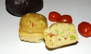 Cake moelleux avocat et tomates cerise