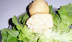 Gâteau au yaourt aux lardons et au camembert