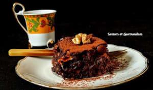 Brownies aux noix et guimauves