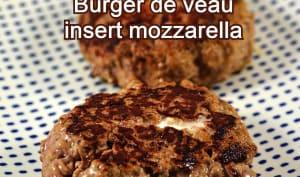 Burger de veau insert mozzarella