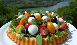 Tarte salade à l'italienne