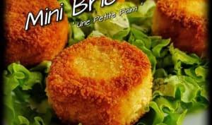 Mini Brie Pané