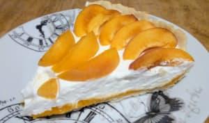 Tarte à la crème à l'abricot