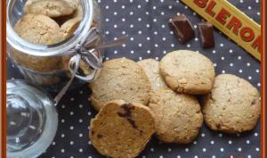 Cookies au Toblerone et amandes