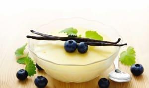 Pouding à la vanille