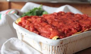 Cannelloni d'épinards