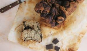 Brioche marbrée à la pâte à tartiner